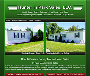 Hunter In Park Mobile Home Sales